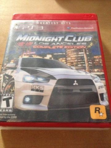 3 Games Originais - Uncharted 3 - GTA V - MidNight Club Los Angeles