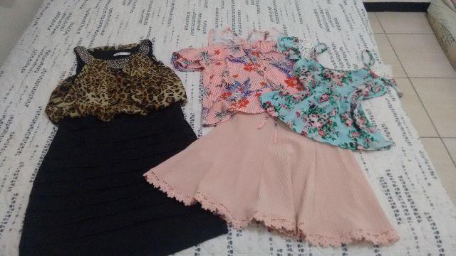 Lote de roupas tamanho M