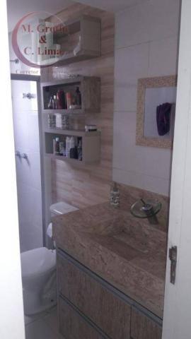 Oportunidade apartamento mobiliado de 122 m² e 4 dormitórios no splendor garden jardim das - Foto 3
