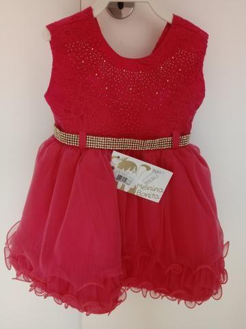 Vestido bebe Tamanho G