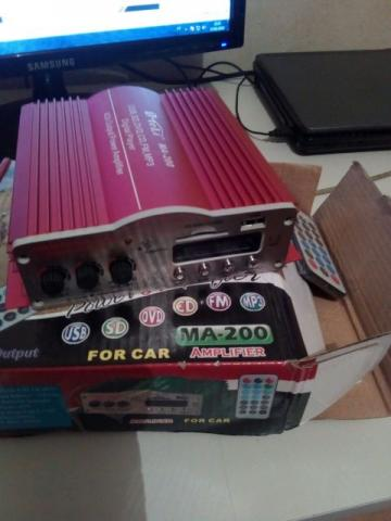Power amplifier,for car,4 channel
