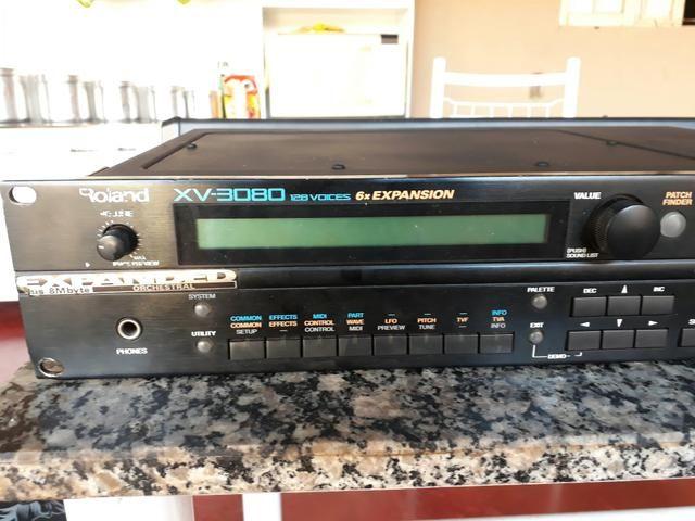 Vendo ou troco módulo Roland XV 3080