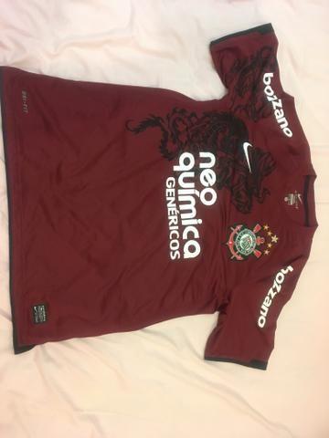 Camisa comemorativa oficial do Corinthians TAM M (Peça de Colecionador)