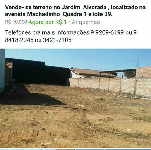 Terreno Ariquemes/RO