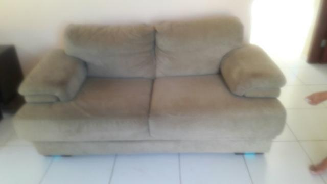 Sofá super confortável + lindo rack
