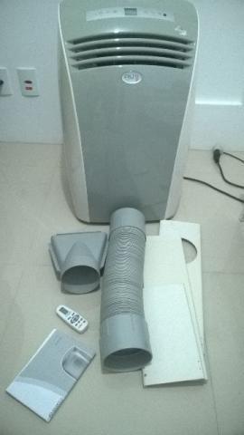 Ar condicionado portatil Piu 12.000 BTUs. QUENTE E FRIO. 110 Volts