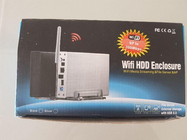Servidor WIFI/cabo - HD externo - até 6Gb - roteador - usb 3.0 -