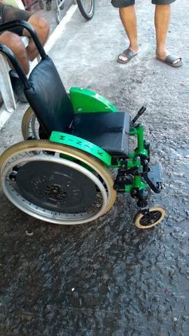 Cadeira de rodas alumínio ortomix infantil