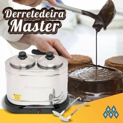 Derretedeira nova Comercial Master 2 Cubas 1 Kg 127v Marchesoni - Foto 2