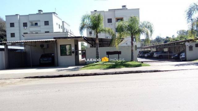 Apartamento com 2 dormitórios para alugar, 64 m² por r$ 590/mês - montanha - lajeado/rs