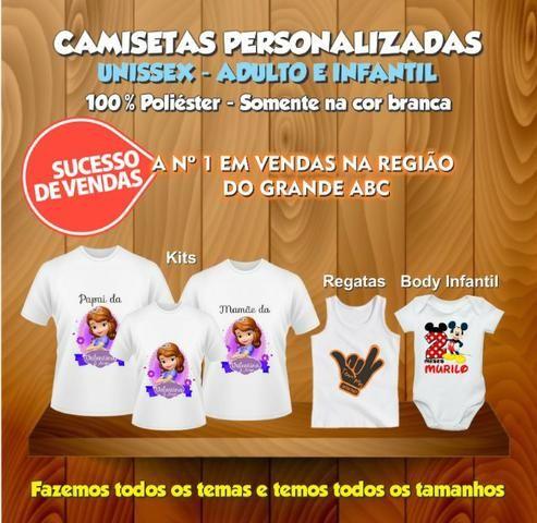 Camiseta Personalizada Com Sua Estampa Foto Imagem - Roupas e ... 7fba6187c0293