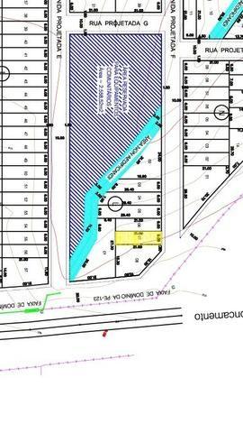 Terreno L06 no Loteamento Santa Clara II - 126 m² - Cupira/PE - Foto 3
