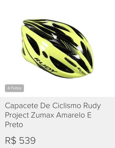 Capacete de Ciclismo Rudy Project Zumax b96b35d9f8e22