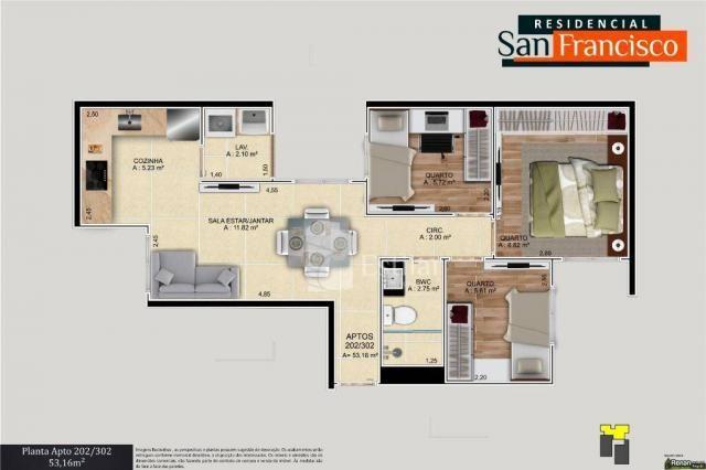 Apartamento com 3 quartos no boneca do iguaçu - são josé dos pinhais/pr - Foto 16
