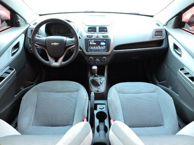 Gm - Chevrolet Cobalt LTZ 1.4 mec. completo + My Link prata - Foto 5