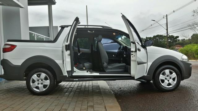 Fiat/strada working 1.4 cabine dupla 2015 flex - Foto 7