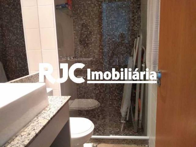 Exclusivíssimo! Condº Hidra Novo Infra total! Tijuca ,Varanda 02 Qtos, Suite, Sol Manhã - Foto 15