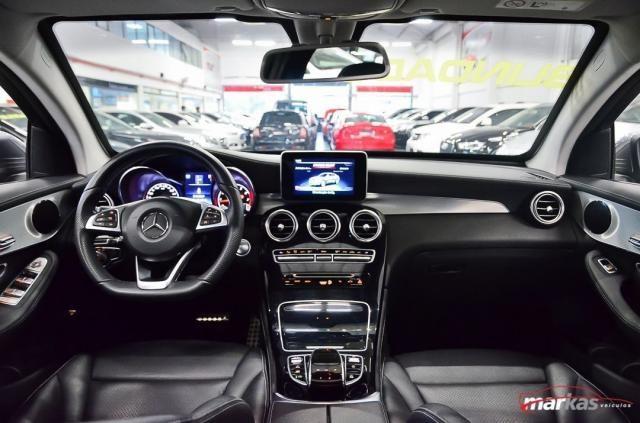 Mercedes GLC 250 2.0 4MATIC 211HP TETO 4X4 NIVEL 3 NA LAF BLINDADOS GARANTIA ATE 2022 4P - Foto 13