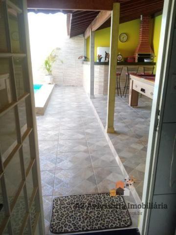 Casa para Venda em Pirassununga, Vila Santa Fé, 3 dormitórios, 1 banheiro, 4 vagas - Foto 3