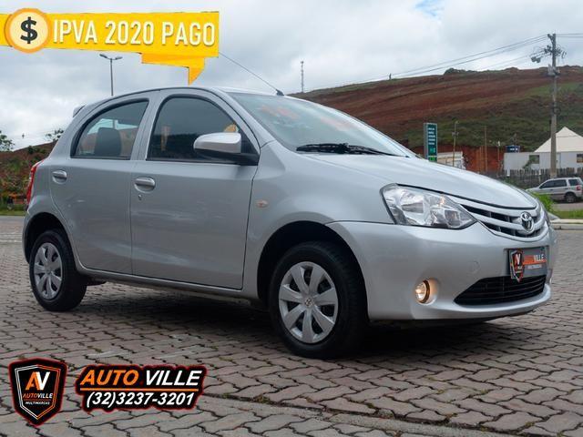 Toyota Etios 1.3 X Manual Flex*Muito Econômico*Garantia Pós Venda