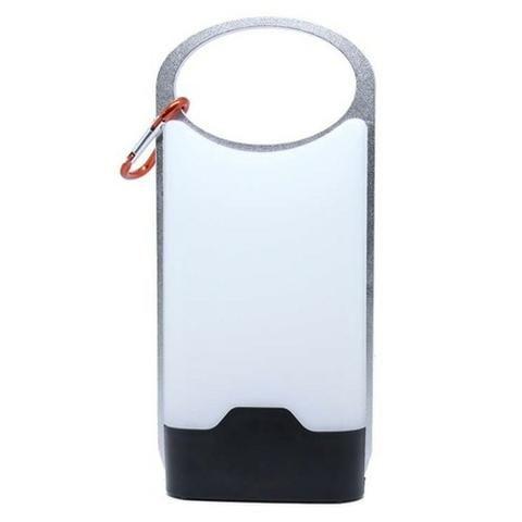 Luminária de camping com mosquetão Glow Azteq que gera até 300 lúmens