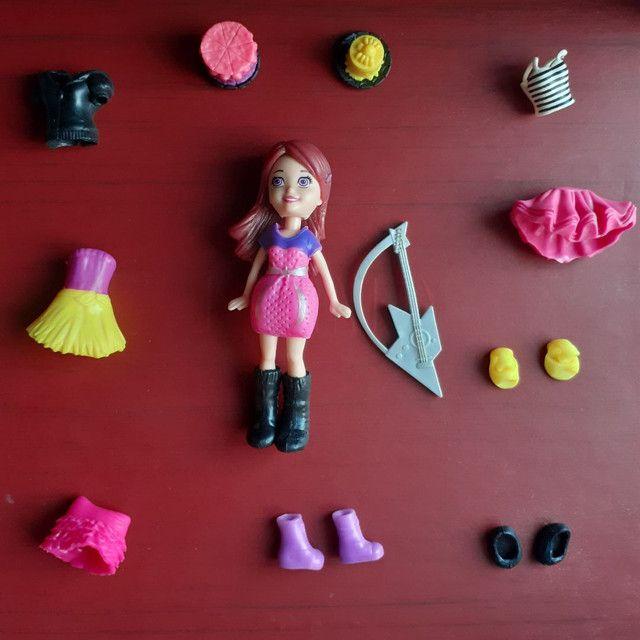 Kit da boneca polly brinquedos