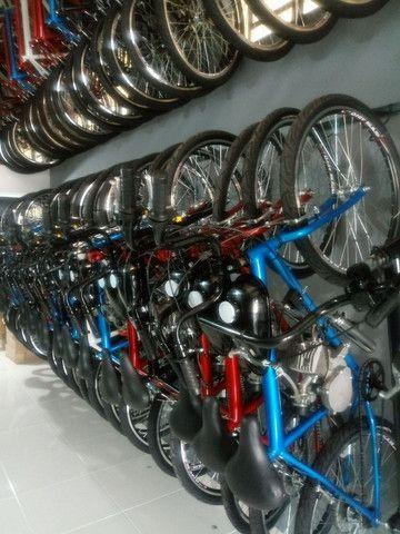 Bicicleta motorizada 80cc - Foto 2