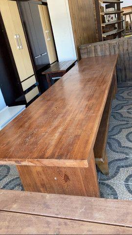 Mesa de madeira  - Foto 5