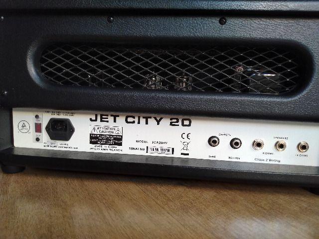 Amplificador Jet City Vintage 20w (cabeçote Valvulado) - Foto 2