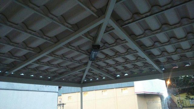 Telhados coloniais com estrutura metálica - Foto 4