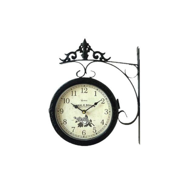 Relógio de estação dupla face - Foto 4