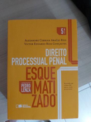 Livro Direito Processual Penal Alexandre Cebrian e Victor Eduardo Rios Gonçalves