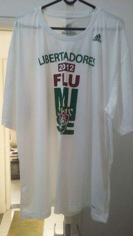 Camisa Fluminense Adidas Libertadores 2012 tamanho XL - Foto 5
