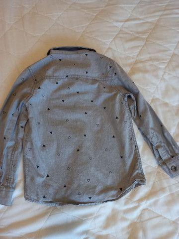 Camisa Hering Menino - Tamanho 4 - Foto 2