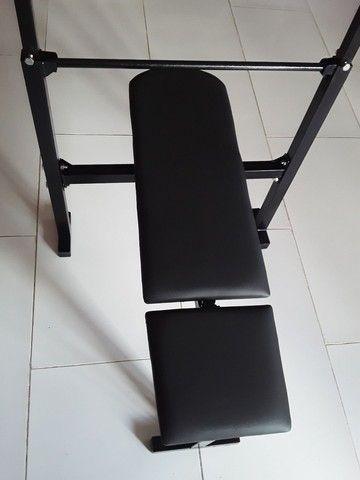 Aparelho De Musculação Mesa De Supino  - Foto 3