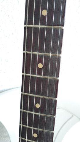 Guitarra ibanez gax 30 regulada com trastes novos - Foto 6
