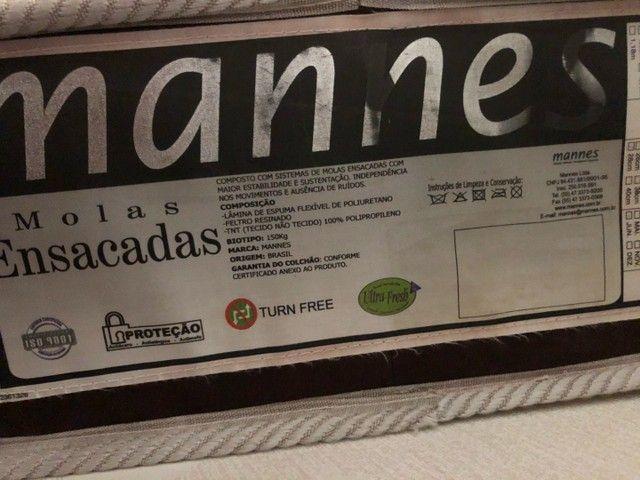 Vendo colchão Mannes  - Foto 2