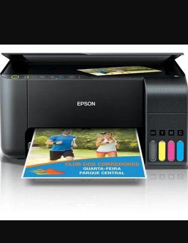 Impressora Epson L3150 com tinta sublimatica