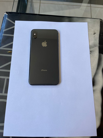 Iphone XS Max 256gb cinza espacial impecavel space gray