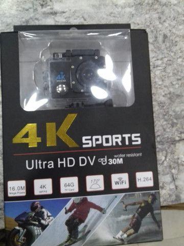 Câmera Sports Cam 4k Full Hd 1080 Wifi - Foto 3