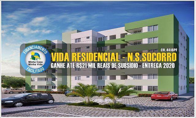 Apartamento Vida Residencial - Lançamento em Socorro - ITBI e Cartório Grátis - 2/4