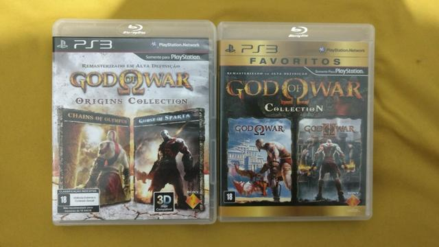 God of war origins collection e collection Ps3