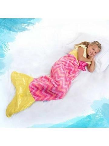 Cobertor Saco de Dormir Cauda de Sereia