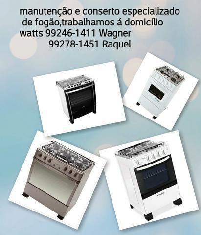 Conserto de fogão á domicilio