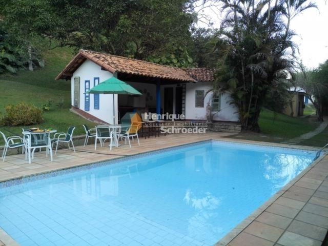 Sítio-haras c/ 9 casas, riacho, lago, piscina, futebol, sauna, br116 - próximo a teresópol - Foto 4