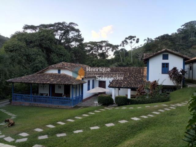 Sítio-haras c/ 9 casas, riacho, lago, piscina, futebol, sauna, br116 - próximo a teresópol - Foto 10