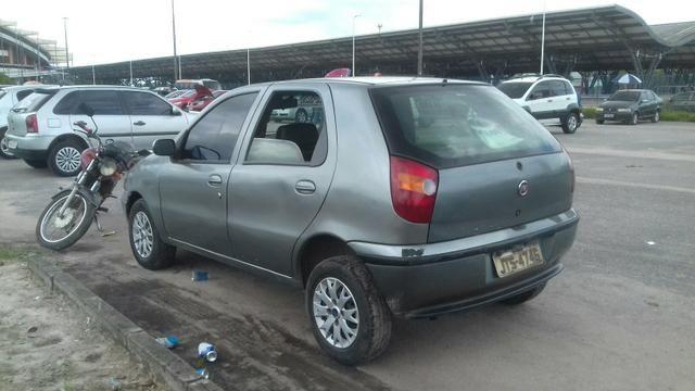 Vendo Fiat Palio ano 98 R$ 4,000,00 para vender logo - Foto 4