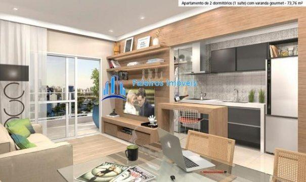Aparatmento 2 e 3 dormitórios - Sacada gourmet - Lazer - Apartamento em Lançamen... - Foto 16