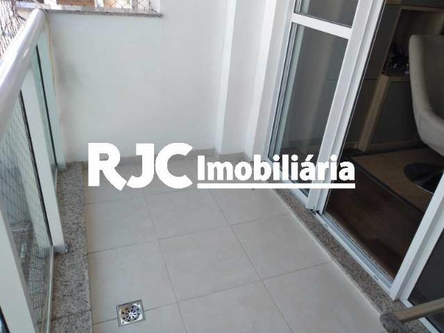 Exclusivíssimo! Condº Hidra Novo Infra total! Tijuca ,Varanda 02 Qtos, Suite, Sol Manhã - Foto 5