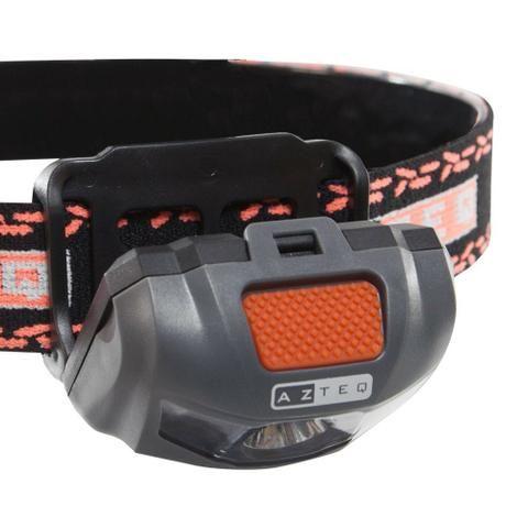 Lanterna de cabeça Azteq Katori possui 3 modos de uso bike camping - Foto 2